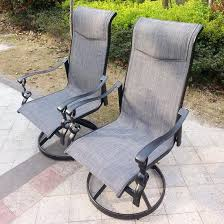 Swivel Rocker Patio Chair Fabulous Swivel Rocker Patio Dining Sets Carlsbad Cushion Aluminum