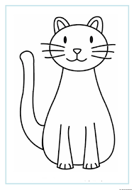 printable cat in the hat coloring pages for kids and real pictures