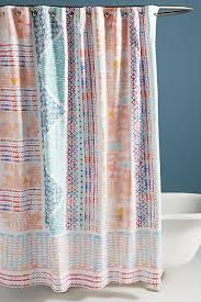 Unique Shower Curtains Unique Boho Shower Curtains Liners Anthropologie