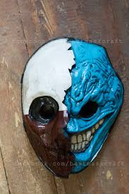 inspired wolf and grin mixed mask payday payday 2 the heist