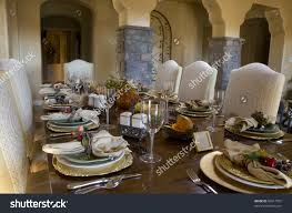 How To Set A Formal Dining Room Table Charming How To Set Dining Room Table Including Fall Decorations
