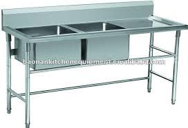 Exceptional Kitchen Sink Equipment Part  Restaurant - Restaurant kitchen sinks