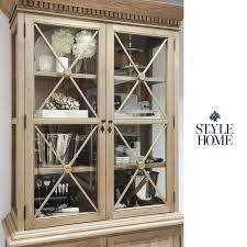 Display Cabinet Canberra Jessica U0027 Glass Display Cabinet Style My Home