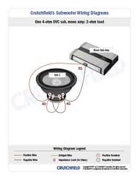 top 10 subwoofer wiring diagram free download 4 dvc 2 ohm mono top