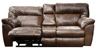 catnapper nolan extra wide console loveseat recliner