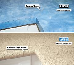 Painting Laminate Countertops Kitchen Laminate Countertops Scratch Easily Can Around The Seams