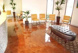Concrete Reception Desk Photo Concrete Stained Floor With Epoxy Sealer U0026 Concrete