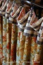 Lined Curtains Diy Inspiration Hidden Curtain Clips Using Header Tape To Make The Top Sturdier