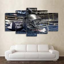 nfl dallas cowboys helmet football game wall art picture canvas