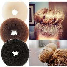 hair bun donut plate hair donut bun maker magic foam sponge hair styling tools