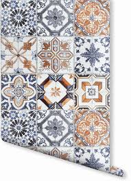 Temporary Wallpaper Uk The 25 Best Tile Wallpaper Ideas On Pinterest Moroccan Tiles
