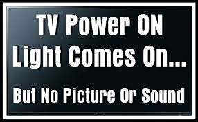 tv blinking red light codes tv power light comes on but no picture or sound removeandreplace com
