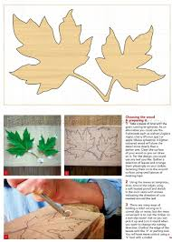 carving maple leaf in relief u2022 woodarchivist