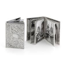 engravable photo album sterling silver engraved photo album rich kosann