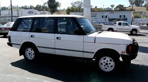 land rover 1992 1993 land rover range rover county lwb classic 2 owner 117k miles