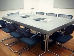 most durable dining table top beautiful concrete conference table best images about custom