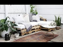 Pallet Sofa Cushions by Diy Wood Pallets Outdoor Couch Cushions Home Decor Tutorial