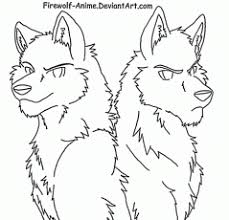13 Pics Of She Wolf Anime Coloring Pages Wolf Coloring Pages Wolf Pack Coloring Pages