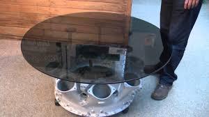 rolls royce jet engine coffee table youtube