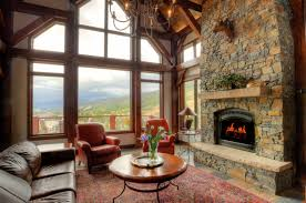 Timber Frame Home Interiors Custom Southern Yellow Pine Timber Frame Home In Keystone Co
