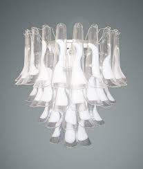 56 white wall sconces ls 1532 double light antique white crystal