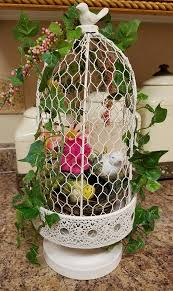 Decorative Bird Cages For Centerpieces by On Sale Bird Cage Centerpiece Easter Centerpiece Spring