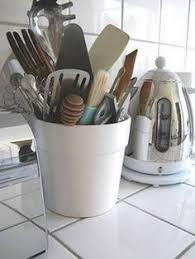 kitchen utensil storage ideas easy diy projects with chalkboard paint best diy kitchen utensil