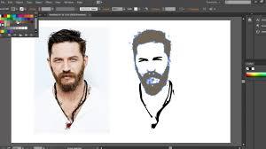 illustrator tutorial vectorize image convert image into vector shape in adobe illustrator youtube