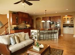 Open Plan Kitchen Living Room Flooring 23 Best Kitchen Images On Pinterest Open Floor Plans Kitchen
