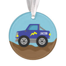 truck ornaments keepsake ornaments zazzle