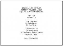 Physics Resume Sample Of A Good Project Title Resume Template Example
