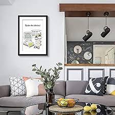 black and white kitchen framed pictures framed kitchen wares kitchen wall black picture frames white matting