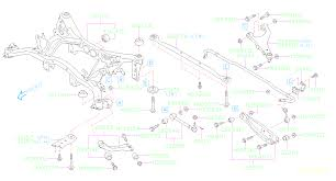 subaru cvt diagram 14 u002718 bolt part numbers rear lateral link subaru forester