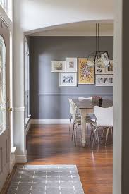 extraordinary two tone walls with chair rail contemporary best