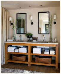 His And Hers Bathroom by Low Profile Vessel Sink
