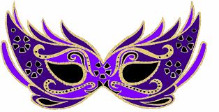 carnaval masks purple masquerade mask clip at clker vector clip