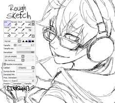 sai ink and sketch pencil doodle brushes how to draws