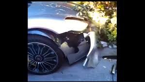 bugatti crash nice car shame about the driver superunleaded com