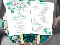 Rustic Wedding Program Fans 92 Best Rustic Weddings Images On Pinterest Rustic Weddings