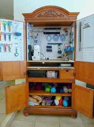 unused armoire as a craft cabinet brilliant one day i want to