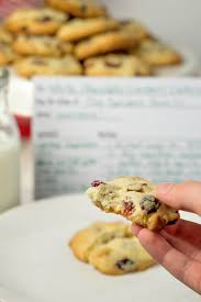 white chocolate cranberry pecan sugar cookies w printable recipe