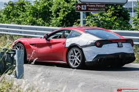 Ferrari F12 Convertible - first spy shots of the ferrari f12 m emerge gtspirit