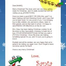 dear santa letter template free nice free santa letters from north pole letter format writing free santa letters from north pole template