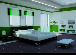 Bed Back Wall Design Bedroom Design Distinctive White And Green Bed Design Ideas With