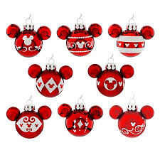 Minnie Mouse Christmas Decorations Plain Ideas Mickey Mouse Christmas Decorations Ornament Set Mini