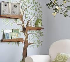 How To Make Tree Bookshelf Be Different Act Normal Diy Tree Bookshelf