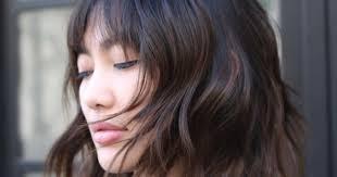 la nyc hair trend bob bangs summer hairstyle photos