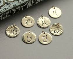14k Gold Initial Disc Necklace 137 Best Jewelry Making Images On Pinterest Jewelry Making