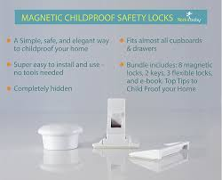 hidden locks for cabinets dors and windows decoration amazon com rock it baby safety magnetic locks for cabinets hidden magnetic locks