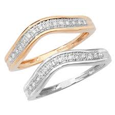 shaped wedding ring wishbone shaped 9ct white or 9ct yellow gold wedding ring
